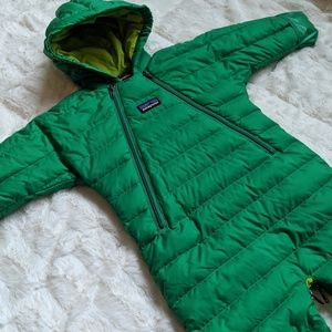 Patagonia down sweater bunting (3M)